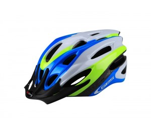 CASCO GES ROCKET AZUL/AMARILLO