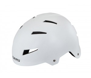 CASCO BMX GES IRON. BLANCO